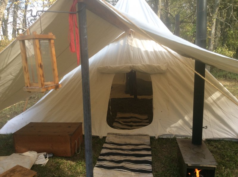 SOLD - Pyramid Tent | Muzzle Loading Forum