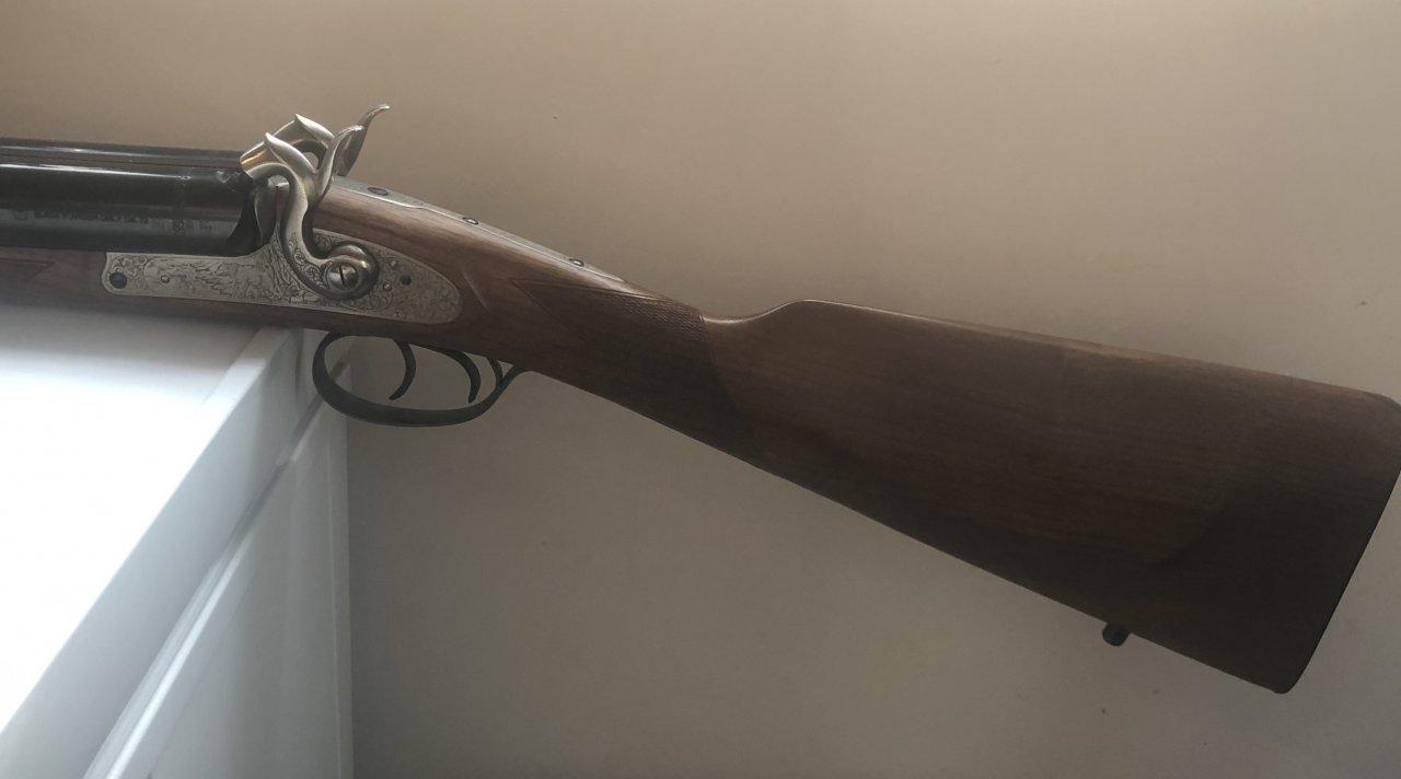 SOLD - Pedersoli Kodiak Safari Express .72 Double Rifle ...